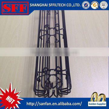 Sffiltech 2015 new product star shaped bag cage with matched pleated filter bag