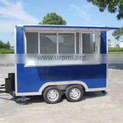 2016 Factory direct sale JX-FS300 hand push food cart with wheel for sale
