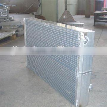 heating radiators for screw air compressor parts radiator for air oil cooler 75HP heating echarge Quality Choice