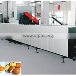 KH full automatic cake production line,food machine, good cake making machine,cake maker,gas consumption is 40kg/h