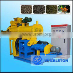 high quality floating fish feed pellet machine, animal feed pellet extruder machine
